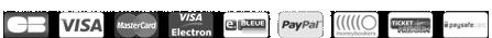 Logo des paiement sur le site ma chevaliere.fr